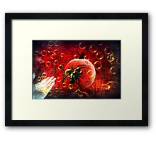 ...And the spiders from Mars Framed Print