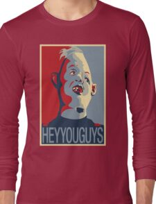 "Sloth from The Goonies - ""Hey You Guys"" Long Sleeve T-Shirt"