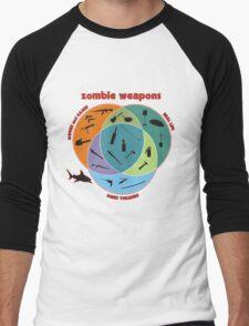 Zombie weapons Men's Baseball ¾ T-Shirt