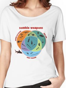 Zombie weapons Women's Relaxed Fit T-Shirt