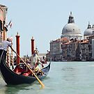 Gondola on the Grand Canal by Drew Walker