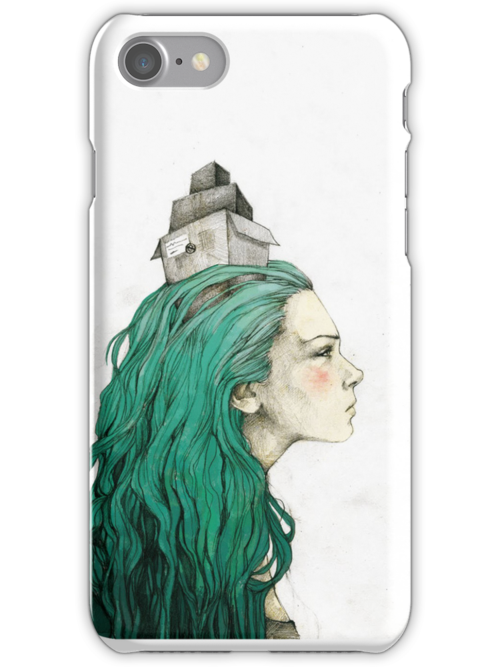 Head box · phone case by Elia Mervi