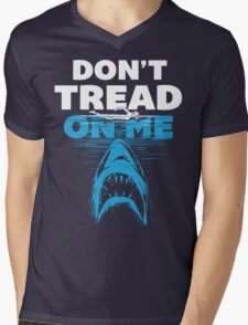 JAWS - Don't Tread On Me Mens V-Neck T-Shirt
