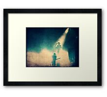 in the spotlight Framed Print