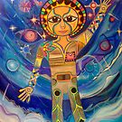 First Steps - Huge Visionary & Whimsical Art by jonkania
