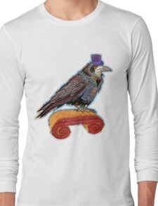 Well Dressed Raven Long Sleeve T-Shirt