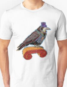 Well Dressed Raven Unisex T-Shirt