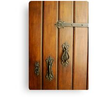 Havana Door Hardware Canvas Print