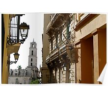 Iglesia y Convento de San Francisco from Oficios Poster