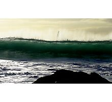 yachting (the power of illusion) Photographic Print