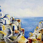 Memories of Santorini #3 by Ivana Pinaffo
