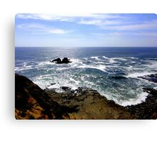 mother earth & father sky  Canvas Print