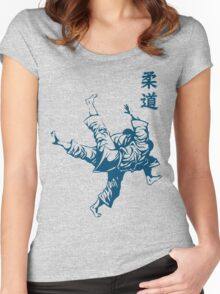 Judo score Women's Fitted Scoop T-Shirt