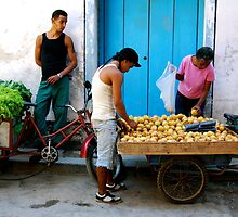 Havana Street Vendor by Timothy State