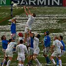 England v Italy pass 2012 lineout by EGGY6198