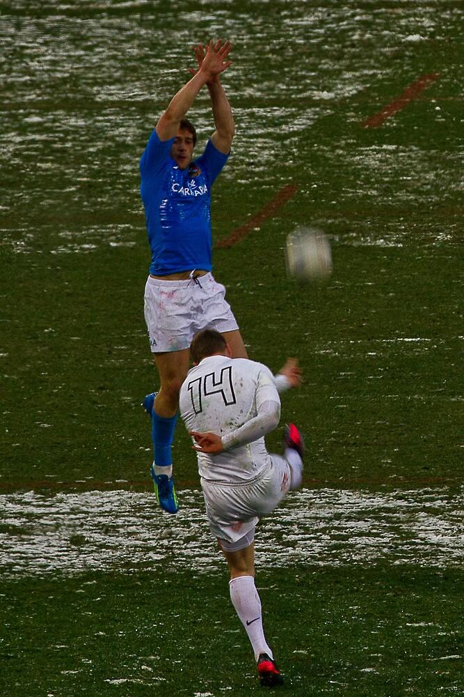 England v Italy pass 2012 kick away by EGGY6198