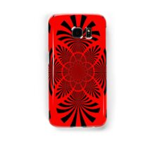 Red & Black Samsung Galaxy Case/Skin