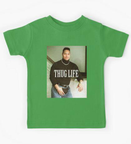 Throwback - Dwayne Johnson Kids Tee