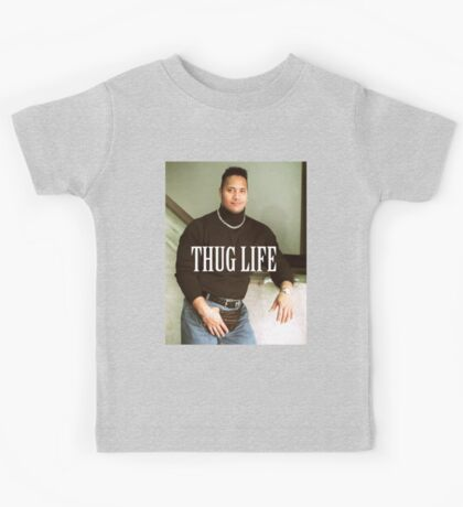 Throwback - Dwayne Johnson Kids Tee