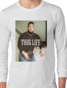 Throwback - Dwayne Johnson Long Sleeve T-Shirt