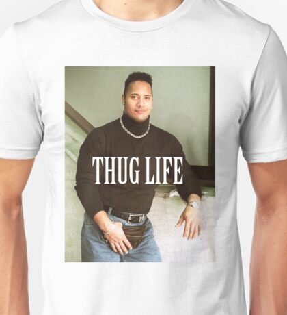 Throwback - Dwayne Johnson Unisex T-Shirt