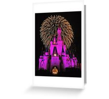Disney World Magic Greeting Card