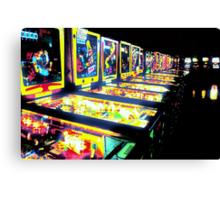 Pinball Arcade Canvas Print