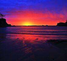 Sunset Bay by benjamphotos
