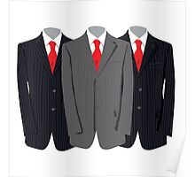 Buisness Suits  Poster