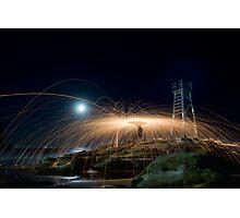 Steel Spiral Photographic Print