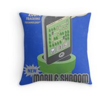 Mobile Shroom Throw Pillow