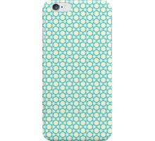 Vintage Blue Floral iPhone Case/Skin