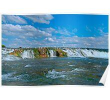 The Green Cascade - Upper Niagara Rapids Poster