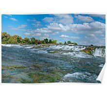 Upper Niagara Rapids Poster