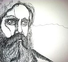 Iron & Wine by ArtbyChaune