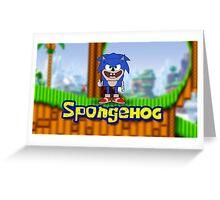 Spongehog Greeting Card