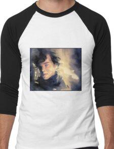 Sherlock  Men's Baseball ¾ T-Shirt