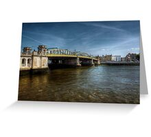 Rochester Bridge  Greeting Card