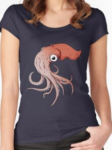 Squidly Women's Fitted Scoop T-Shirt
