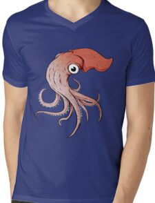 Squidly Mens V-Neck T-Shirt