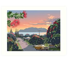 Great Barrier Island - Road to Leigh Art Print