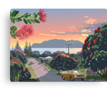 Great Barrier Island - Road to Leigh Canvas Print