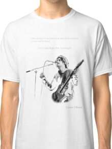 Conor Oberst -  Let's just hope that is enough Classic T-Shirt