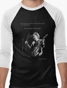 Conor Oberst -  Let's just hope that is enough Men's Baseball ¾ T-Shirt