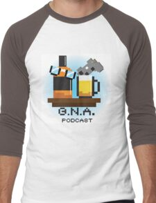 G.N.A. Podcast Men's Baseball ¾ T-Shirt