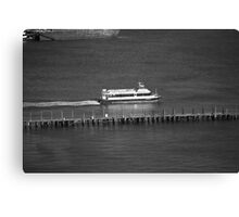 New York City Water Taxi Canvas Print