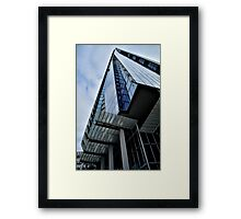 A Blue Shard Framed Print