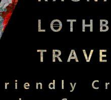 Ragnar Lothbrok Travel Sticker