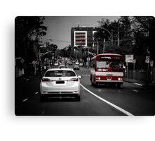 4pm Traffic  Canvas Print