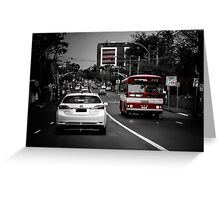 4pm Traffic  Greeting Card